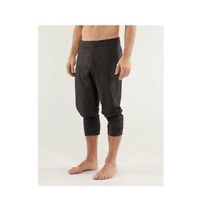 Lululemon men inversion crop yoga lightweight